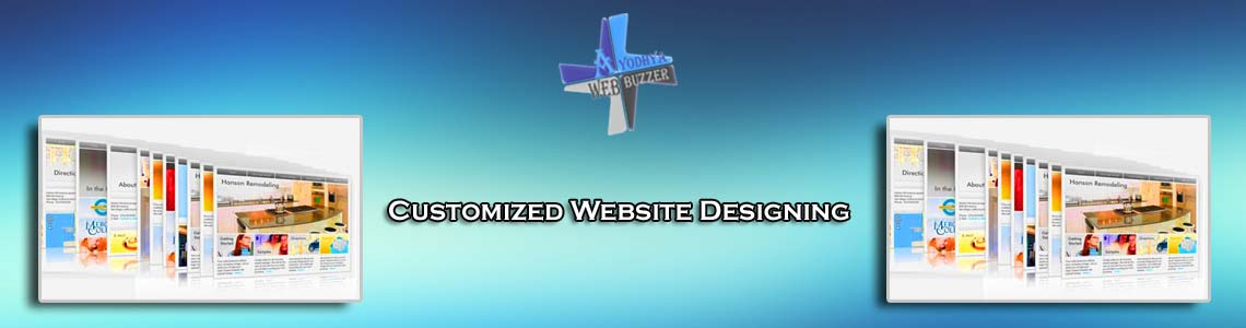 Customized Website Designing