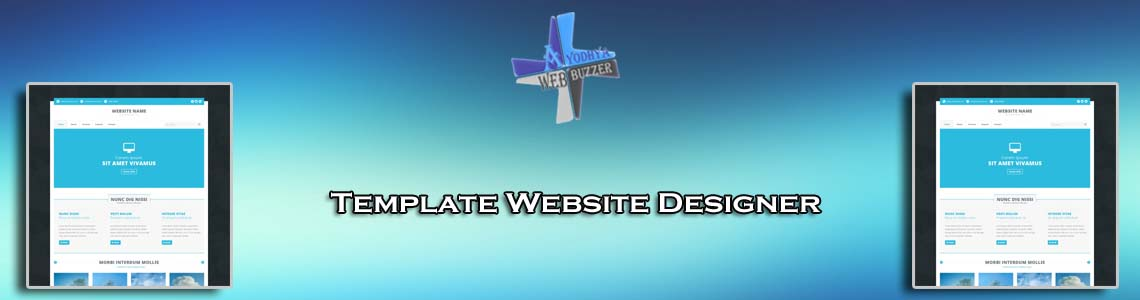 Template Website Designer